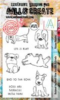 Clear Stamps - A6 - #373 Rescue Puppies