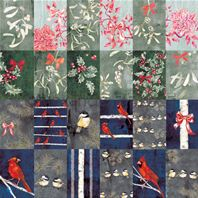 Papier - Winterbirds - Card sheet