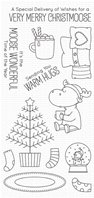Clear Stamp - Merry Christmoose