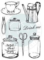 Clear stamps - The Herbarium - Utensils
