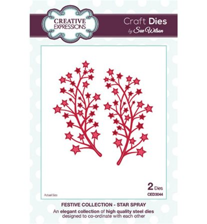 Crafts Dies - Festive Collection - Star Spray