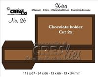 Crealies Xtra - Chocolate Holder