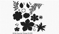 Clear Stamp - Tropical Flowers