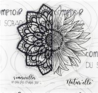 Clear stamps - Tournesol