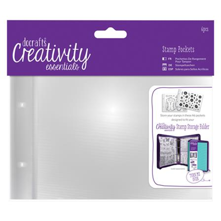Creativity - A6 Stamp Pockets