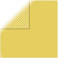 Papier - Dots&stripes - Yellow