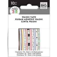 Lot de 10 Washi Tape - n°6