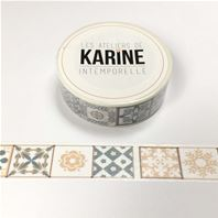 Masking tape - Intemporelle - Azulejo
