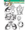 Clear Stamp - Furry Hugs
