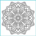 Clear Stamp - Doily Fun