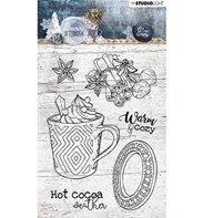 Clear Stamp - Snowy Afternoon - 396