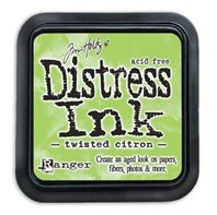 Mini Distress Pad - Twisted Citron