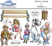 Clear Stamp - Puppy Love