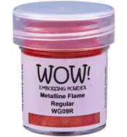 Wow! Embossing Powder - Metalline Flame