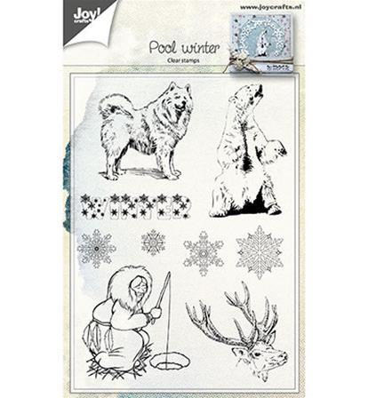 Clear stamp - Pool Winter