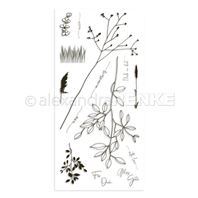 Clear Stamp - Memories Floral - Grasses with Love