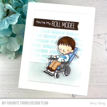 Clear Stamps - Roll Model