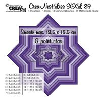 Crea-Nest-Lies- XXL - 8 pointes star
