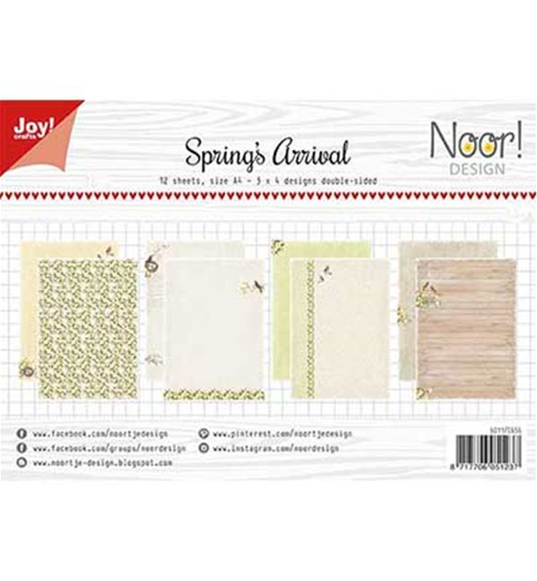 A4 paper set - Spring's Arrival