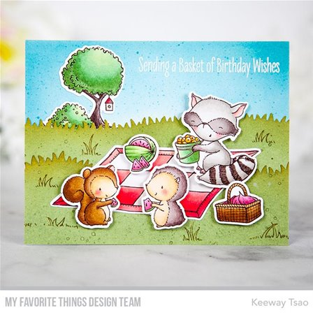 Clear Stamp - Picnic Pals