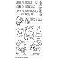 Clear Stamp - Jingle All The Way