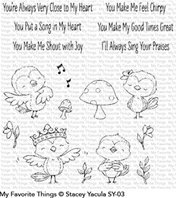 Clear stamps - Tweet Friends