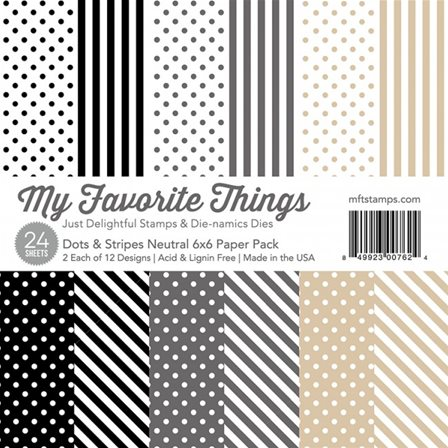 Dots&Stripes Neutral Paper pack