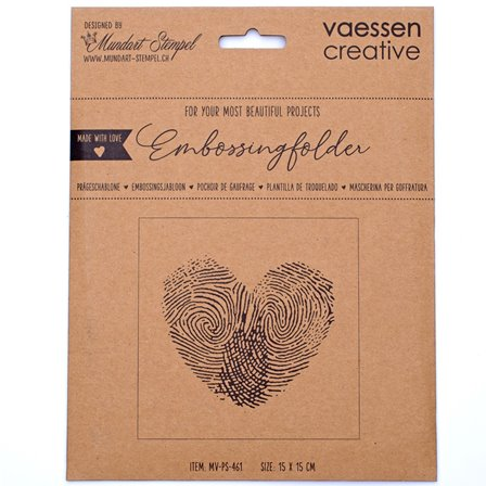 Embossing Folder - Finger Print