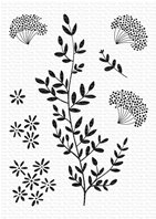 Clear Stamp - Dandelion Greenery