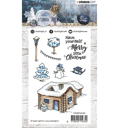 Clear Stamp - Snowy Afternoon - 399