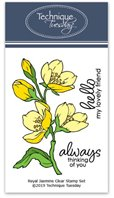 Clear stamp - Royal Jasmine