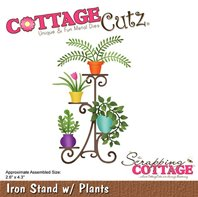 Cottage Cutz - Iron Stand with Plants