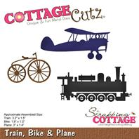 Cottage Cutz - Train, bike & plane