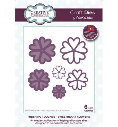 Craft Dies - Sweetheart Flowers