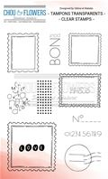 Clear stamp - Esprit Cottage - Les timbres