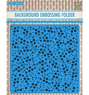 Embossing Folder - Background - Flowers