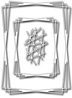 Die - Rectangle Tangled Frames
