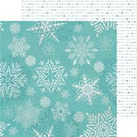 Papier - Let It Snow - Falling Snowflakes