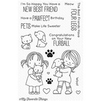 Clear Stamps - My Best Friend