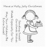 Clear stamp - Sweet Christmas Wishes