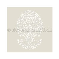 Stencil - Oval Ornament
