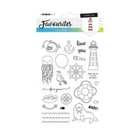 Favourites Clear Stamps- Caribbean sea - 385