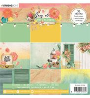 Paper pad - Say it with flowers - 162