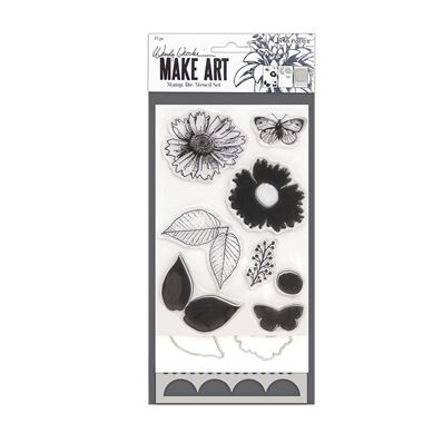 Make Art - Country Flowers