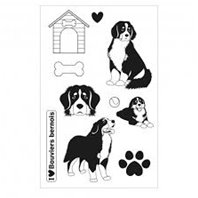 Clear Stamp - Family Friends - Bouvier