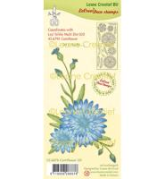 Clear stamp - Cornflower