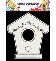 Dutch Card Art - Birdhouse (A5)