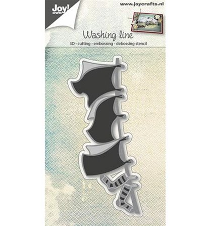 Cutting & Embossing - Washing line