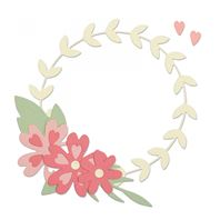 Thinlits - Floral Wreath