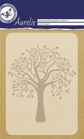 Embossing Folder - Sycamore Maple